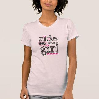 Camiseta Passeio como uma menina - cruzador