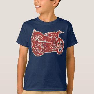 Camiseta Passo (vermelho/crm do vintage)