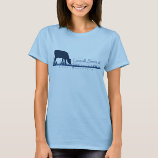 Camiseta Pastando o T de Lasa da vaca