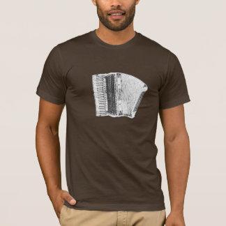 Camiseta Pastel do acordeão de Pietro