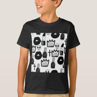 Camiseta pastel goth, queen, horror, terror, gothic, femini