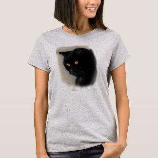 Camiseta Pastor de dama com motivo de gato