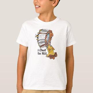 Camiseta Pastor de menino motivo:  Indianerhäuptling