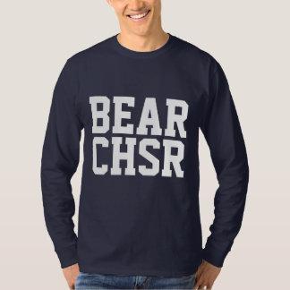 Camiseta Pata de urso branco do URSO CHSR do caçador do