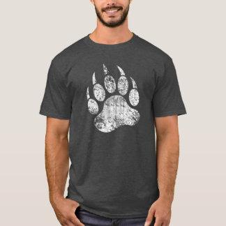 Camiseta Pata de urso do Grunge do orgulho do urso