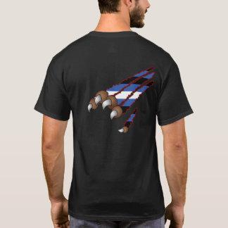 Camiseta Pata & t-shirt (de couro) do orgulho