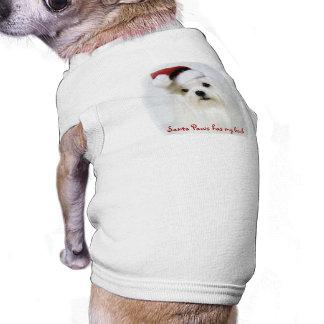Camiseta Patas do papai noel