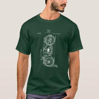 Camiseta Patente da motocicleta que tira 1919