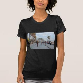 Camiseta patinagem à praia de Veneza