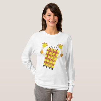 Camiseta Patinando sabão a ligação em ponte de nenhumas