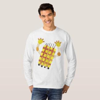 Camiseta Patinando sabão a ligação em ponte de nenhuns