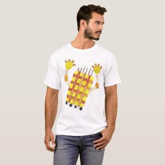 Camiseta Patinando sabão o t-shirt de nenhuns homens do