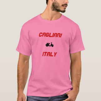 Camiseta Patinete de Cagliari, Italia