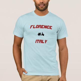 Camiseta Patinete de Florença, Italia