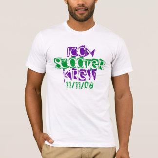 Camiseta Patinete Krew do ícone em segundo