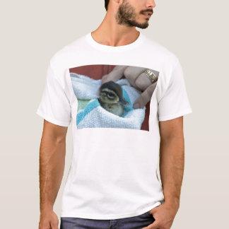 Camiseta Pato de madeira do bebê