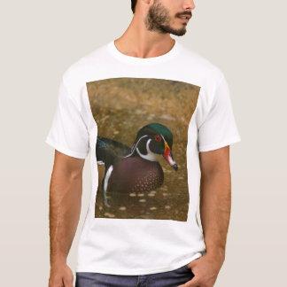 Camiseta Pato de madeira masculino