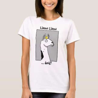 Camiseta Pato do lama do lama…?