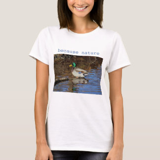 Camiseta Pato do pato selvagem