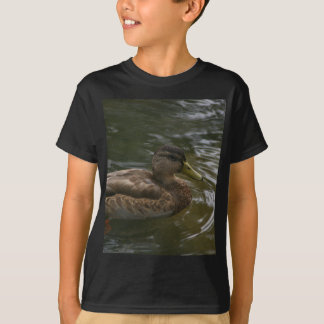 Camiseta Pato fêmea do pato selvagem