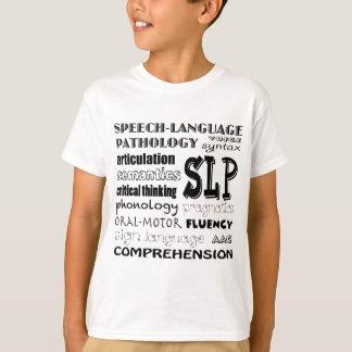 Camiseta Patologista da língua do discurso