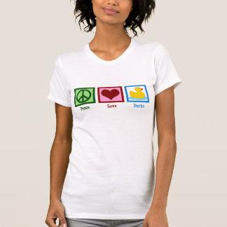 Camiseta Patos do amor da paz