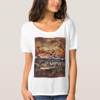 Camiseta Patos selvagens do t-shirt de Nova Zelândia