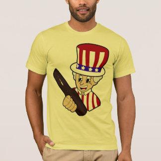 Camiseta Patriota da soda do vintage