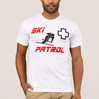"""Camiseta Patrulha do esqui - """"esquiador """""""