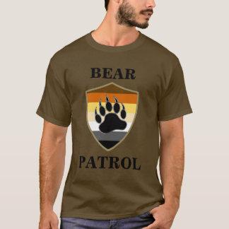 Camiseta Patrulha do urso do orgulho do urso