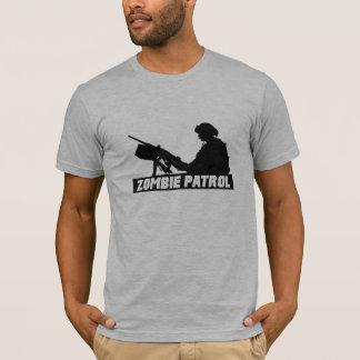 Camiseta Patrulha do zombi - na arma