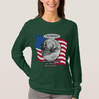 Camiseta Paul Revere de acordo com Sarah Palin