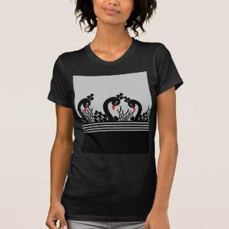 Camiseta pavão preto