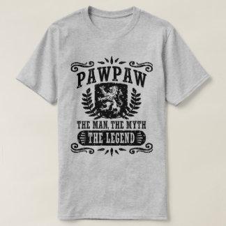 Camiseta PawPaw o homem o mito a legenda