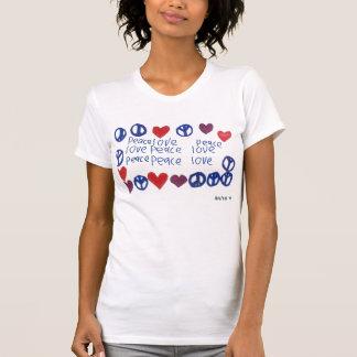 Camiseta Paz & amor Cami