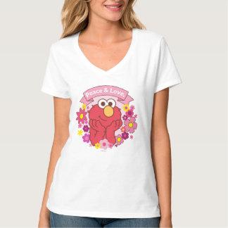 Camiseta Paz & amor de Elmo |