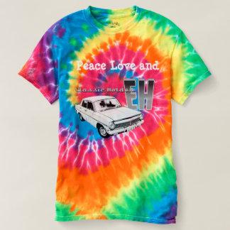 Camiseta Paz, amor e EH Holden