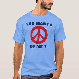 Camiseta Paz de mim