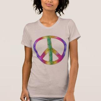 Camiseta Paz do arco-íris