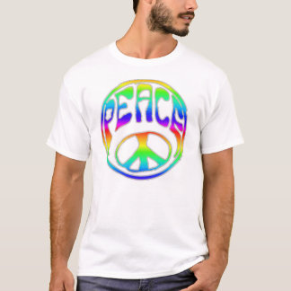 Camiseta Paz do arco-íris