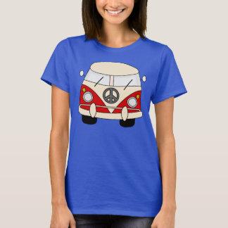 Camiseta Paz do hippy