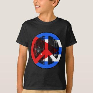 Camiseta Paz em Cuba