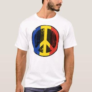 Camiseta Paz em Romania