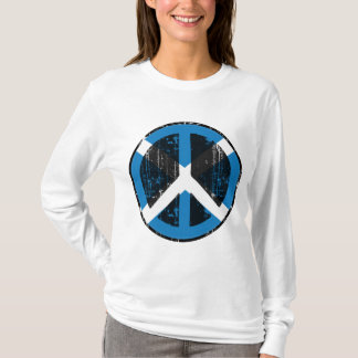 Camiseta Paz em Scotland