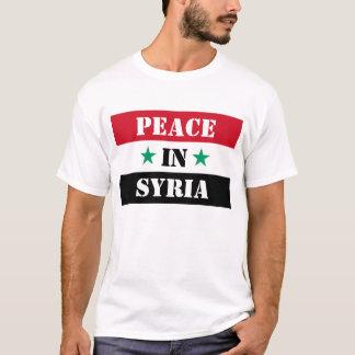 CAMISETA PAZ EM SYRIA