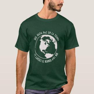 Camiseta Paz na terra (francesa)