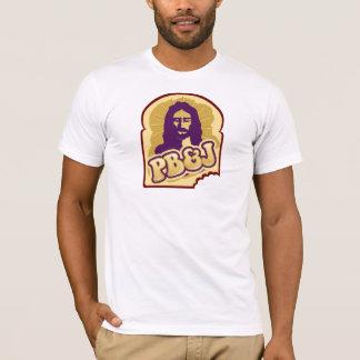 Camiseta PB & J, manteiga de amendoim e Jesus