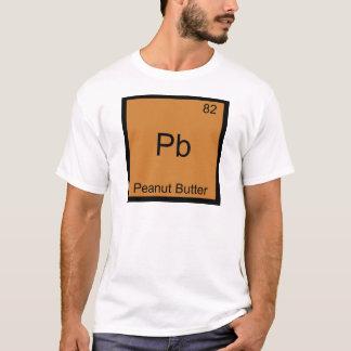 Camiseta Pb - t-shirt engraçado da química do elemento da