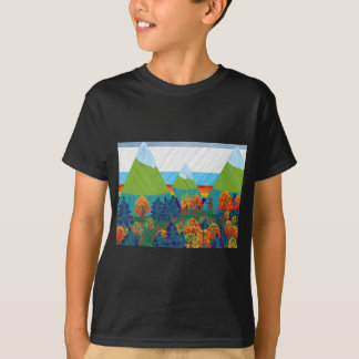 Camiseta Pé grande