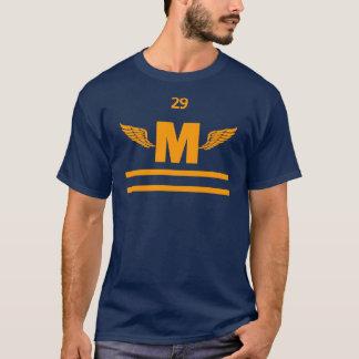 Camiseta Pé voado elevação de Marshfield, ouro